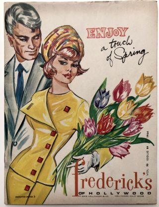 "Frederick's of Hollywood, ""Enjoy a Touch of Spring"" 1966 catalogue"