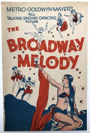 "1929 Program for Metro-Goldwyn-Mayer's ""The Broadway Melody"" at the Astor Theatre, NYC"