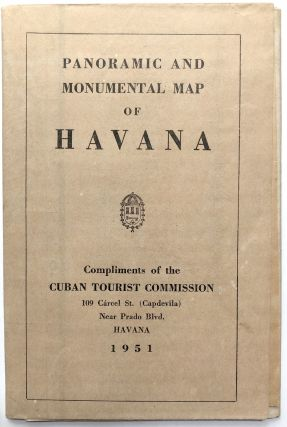Panoramic and Monumental Map of Havana, 1951