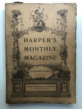 Harper's New Monthly Magazine, November 1909. Howard Pyle Norman Duncan