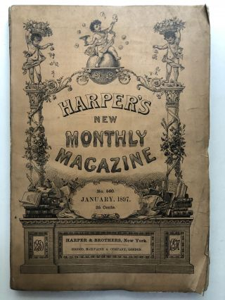 Harper's New Monthly Magazine, January 1897. George du Maurier Mary E. Wilkins
