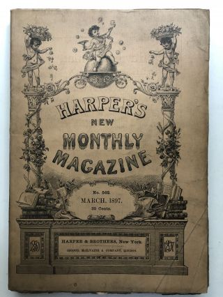 Harper's New Monthly Magazine, March 1897. George du Maurier Margaret E. Sangster