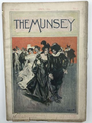 The Munsey [Munsey's Magazine] April 1899. Max Pemberton Anthony Hope