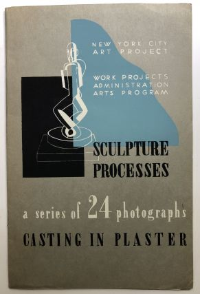 Sculpture Processes, Casting in Plaster, a series of 24 photographs. Work Projects...