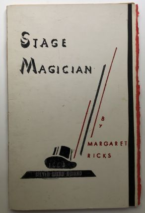 Stage Magician and other poems. Margaret Ricks