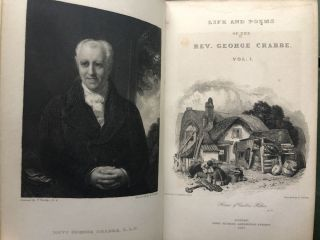 The Poetical Works of the Rev. George Crabbe, with his letters and journals, and his life, by his son, 8 volumes
