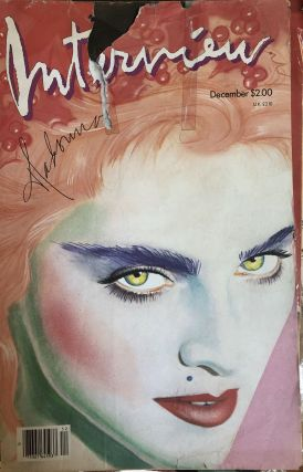 Andy Warhol's Interview, the Crystal Ball of Pop Culture, Volume 1: Best of the First Decade, 1969-1979 - plus 30+ original Interview magazines from the 1980s!