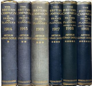 The British Campaign in France and Flanders, 1914-1918 (6 volume set)