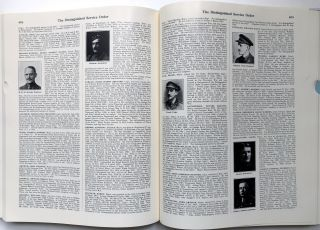 The Distinguished Service Order 1886-1923, A Complete Record of the Recipients of the Distinguished Service Order From Its Institution in 1886, to the 12th June, 1923...