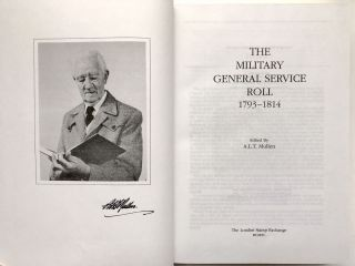The Military General Service Roll, 1793- 1814