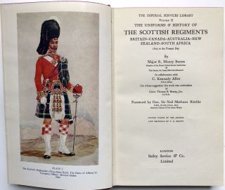 The Imperial Services Library (10 vols. complete): A History of the Regiments & Uniforms of the British Army; Model Soldiers, A Collector's Guide; The Uniforms and History of the Scottish Regiments; The Mounted Troops of the British Army 1066-1945, Military Uniforms of Britain & the Empire; Weapons of the British Soldier; The Soldiers of London; Troopships and their History; Tanks in Battle; and The British Army of 1914