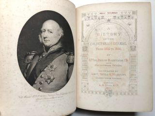 A History of the Coldstream Guards from 1815-1895 -- signed by author