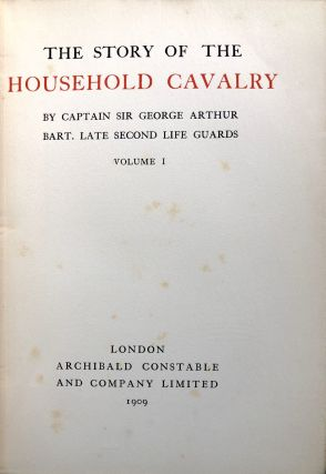 The Story of the Household Cavalry, 2 volumes