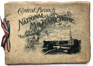 1910s viewbook of albertypes: Central Branch, National Military Home, Dayton (Montgomery County)...