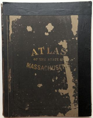 Official Topographical Atlas of Massachusetts from Astronomical, Trigonometrical and Various...