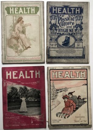Group of 38 Health magazine issues, 1905-1909