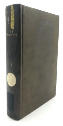 The Pamphleteer, Vol. XV, nos. 29 & 30, 1819. J. Freeman Rattenbury, Thomas Forster, George...