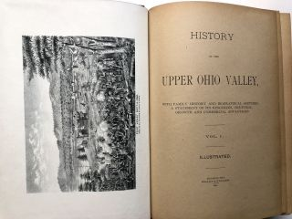 History of the Upper Ohio Valley, 2 volumes