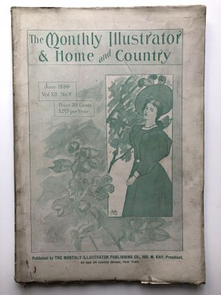 The Monthly Illustrator & Home and Country, June 1896. Rufus R. Wilson Robert Stodart