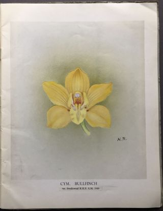 1954 Breeder's Catalogue of Cymbidiums and orchid bulbs
