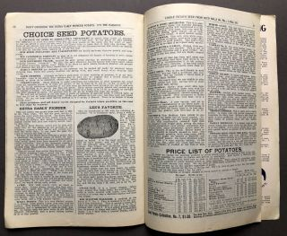 1901 21st Annual Catalogue, Ford Seed Co., Tested Flower, Vegetable and Field Seeds, Bulbs, Seed Potatoes, Etc.