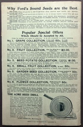 20th Annual Catalogue, 1900: flower and fruit seeds, garden supplies, etc.