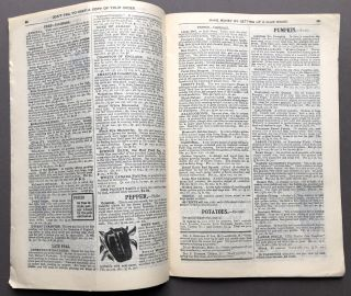 1898 catalogue: Carefully Grown, Cured, Tested Seeds, Potatoes, Plants, Trees, Etc.