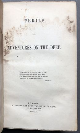 Perils and Adventures on the Deep