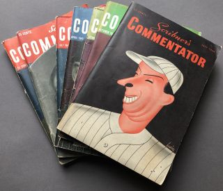 7 issues of Scribner's Commentator: July 1940, October 1940, February 1941, April 1941, July...