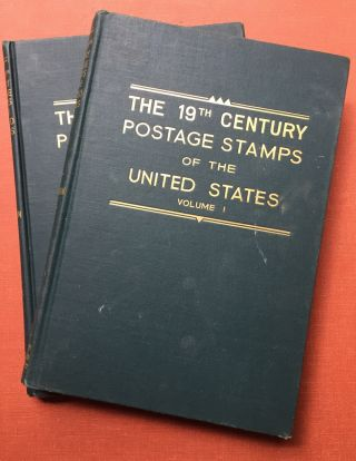 The 19th Century Postage Stamps of the United States - 2 volumes original 1947 edition. Lester G....
