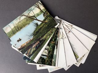 18 1910s postcards of CATSKILLS, NEW YORK and Hudson Valley