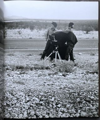 Avedon at Work in the American West - signed by Wilson & Avedon