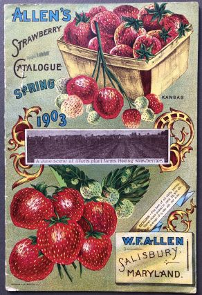 Allen's Strawberry Catalogue, Spring 1903. Seed catalog, W. F. Allen