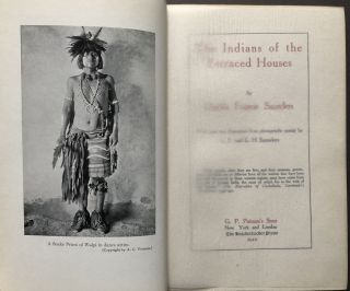 The Indians of the Terraced Houses -- inscribed to western author Idah Meacham Strobridge in 1914