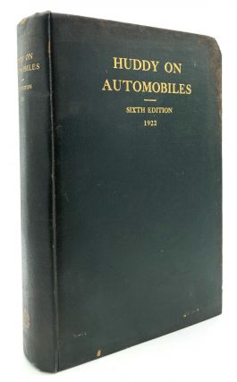The Law of Automobiles, Sixth Edition (1922). Arthur F. Curtis Xenophon P. Huddy
