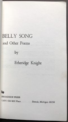 Belly Song and other poems