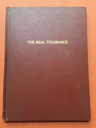 The Real Tolerance