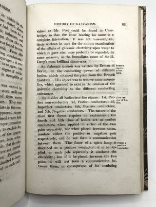 An Account of the History and Present State of Galvanism