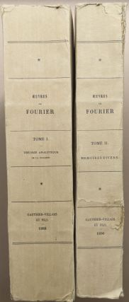 Oeuvres de Fourier, 2 volumes