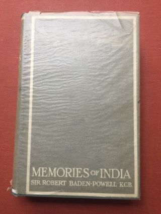 Memories of India - First American edition in original wax...