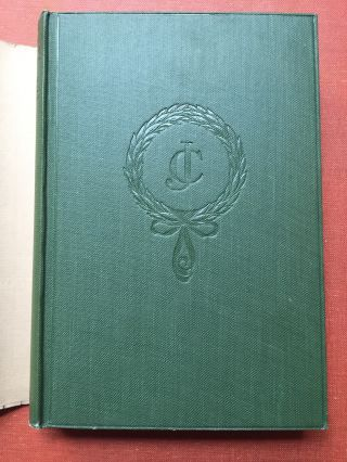 Last Essays - First edition, 1926, in dust jacket