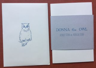 Donna the Owl (limited edition)