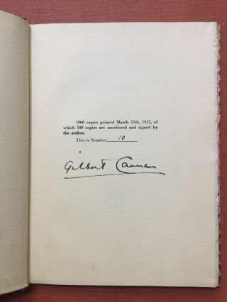 Love is Less Than God, The Book of the Soul - one of 100 signed