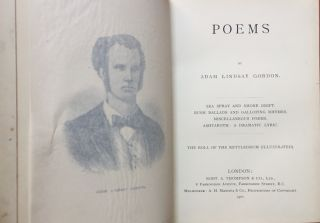 Poems (1901, in full tree calf binding): Sea Spray and...
