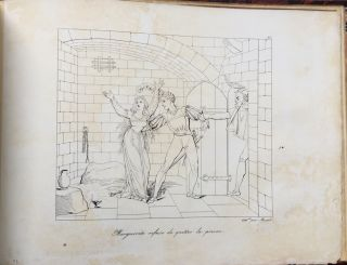 Faust - 26 lithographed plates by Muret of the principal scenes of Goethe's Faust (1824)