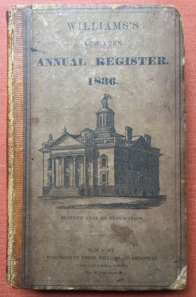 The New-York Annual Register for the Year of Our Lord...
