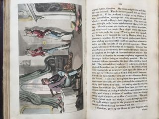 Journal of Sentimental Travels in the Southern Provinces of France, Shortly Before the Revolution (1821, first edition, color plates by Rowlandson)