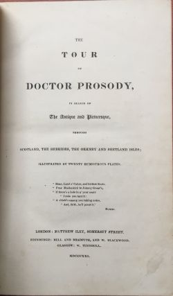 The Tour of Doctor Prosody in the search of the...