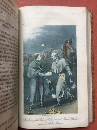 The Battle of Waterloo, or, A General History of the Events connected with that important Aera. Second Edtion, 1816, finely bound.