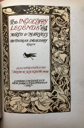 The Ingoldsby Legends, illustrated by Arthur Rackham (1907 first American, 24 mounted plates)